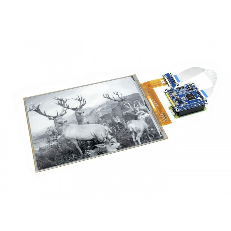 10.3inch flexible E-Ink display HAT for Raspberry Pi