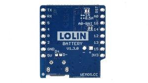 Battery Shield V1.3.0 for LOLIN D1 Mini