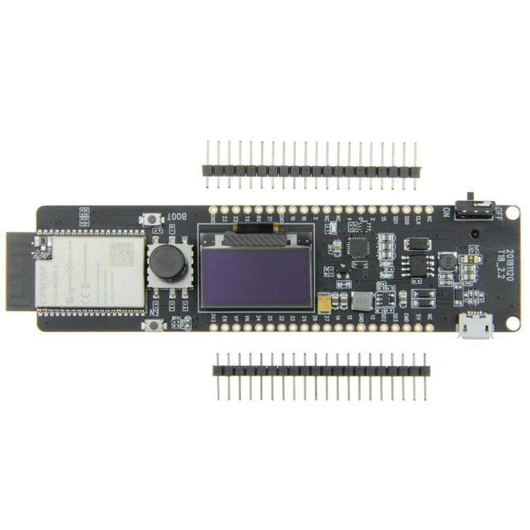 TTGO T-controller ESP32-WROVER 4MB SPI flash and 8MB PSRAM 0.96OLED five-way button 18650 battery holder