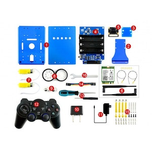 JetBot AI Kit Accessories, Add-ons for Jetson Nano to Build JetBot