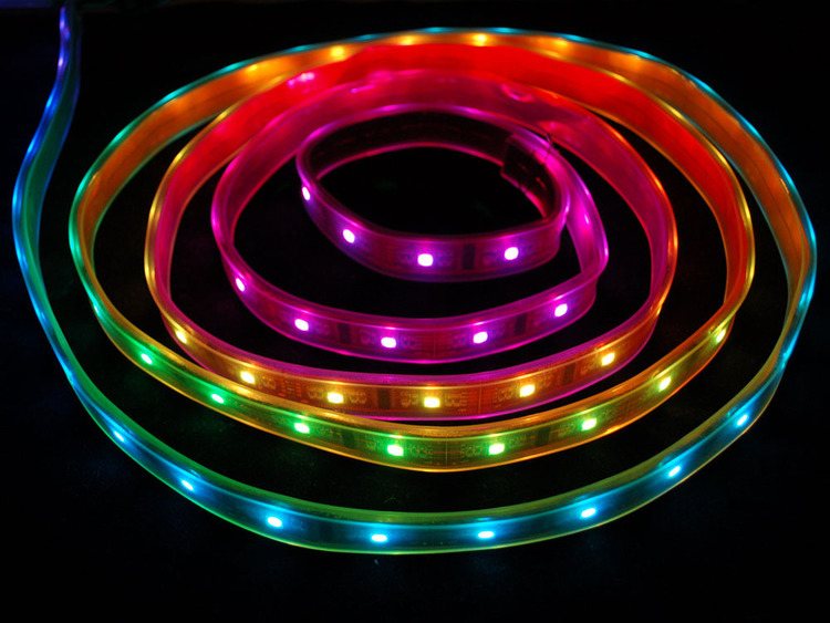 Digital RGB LED Weatherproof Strip - LPD8806 32 LED 1m