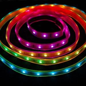 Digital RGB LED Weatherproof Strip - LPD8806 32 LED 1m