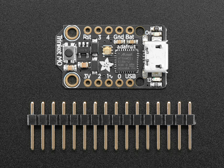Adafruit Trinket M0 - for use with CircuitPython & Arduino IDE