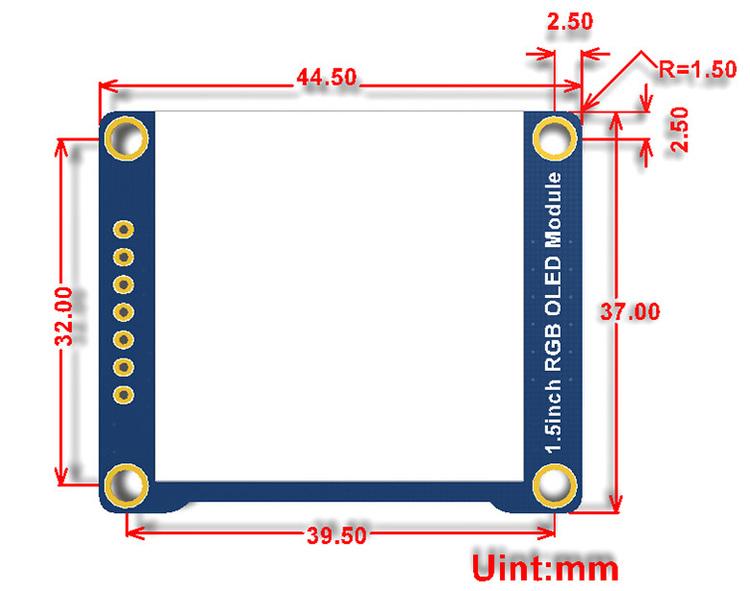 1.5inch RGB OLED Module