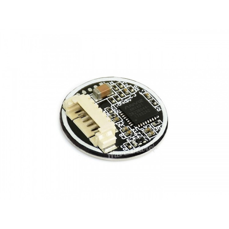 Round-shaped All-in-one UART Capacitive Fingerprint Sensor