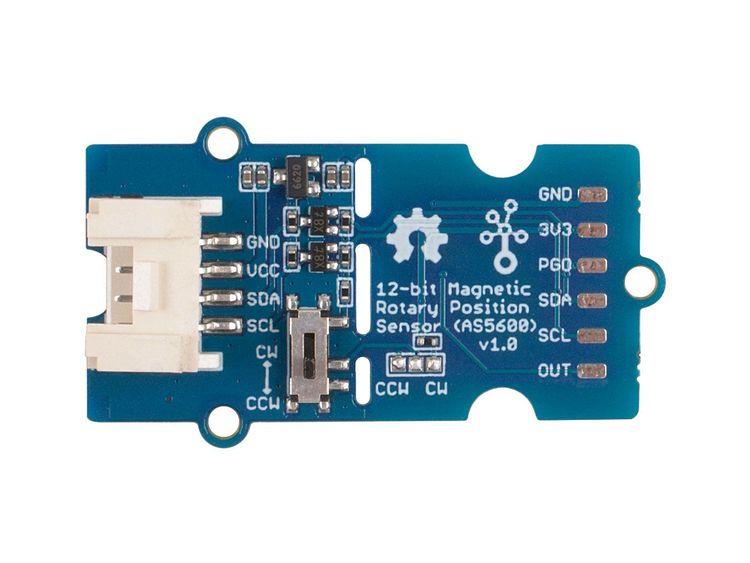 Grove - 12-bit Magnetic Rotary Position Sensor Rotary / Encoder (AS5600)