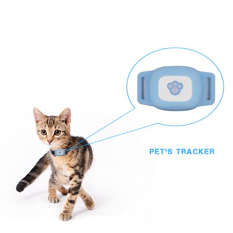 Liten IP67 GPS-tracker för katt och hund
