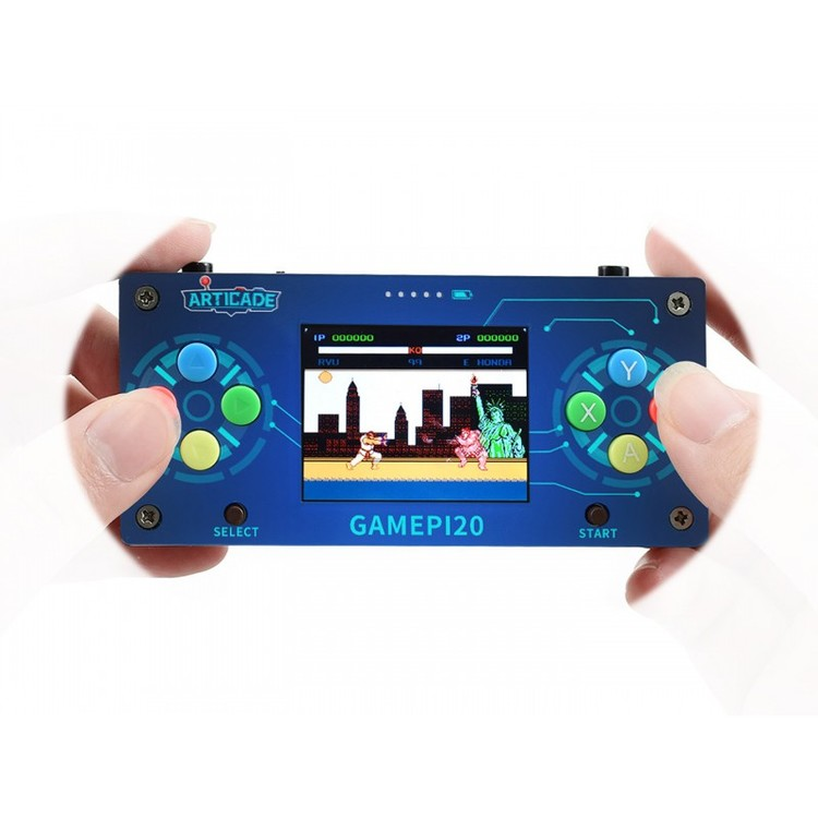 GamePi20, Mini Video Game Console Based on Raspberry Pi Zero