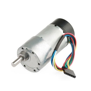 GM37 Geared Motor with Encoder-DC Motor-1:10-16CPR