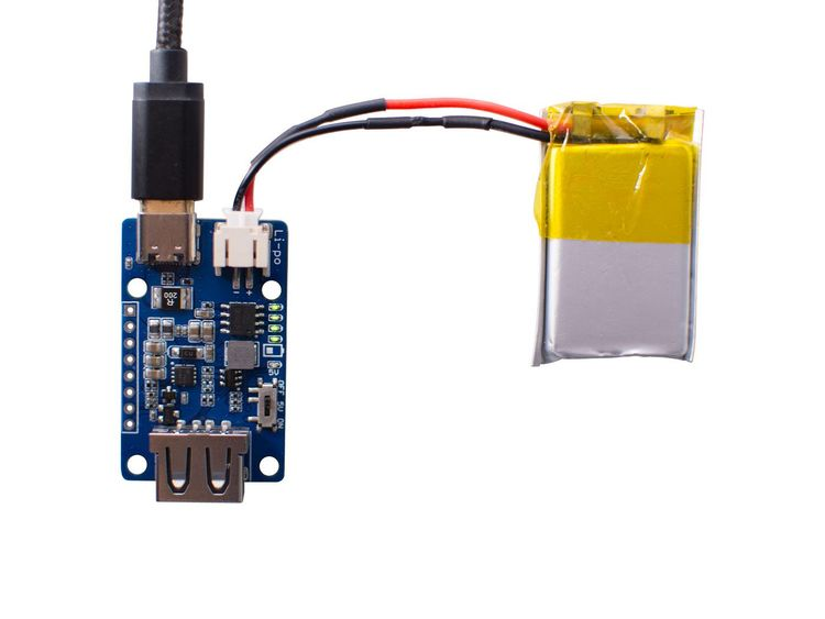 Lipo Rider Plus (Charger/Booster) - 5V/2.4A USB Type C