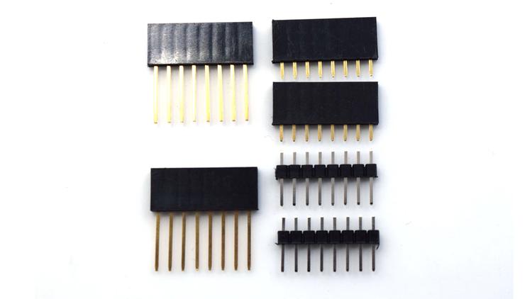 Pins for WEMOS D1 mini (Pro/Lite) / D1 mini Shields