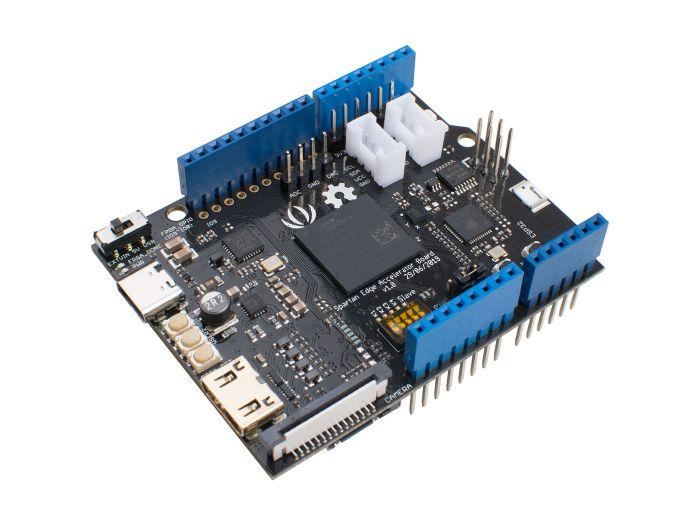 Spartan Edge Accelerator Board  - Arduino compatible FPGA Shield with ESP32