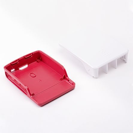 Raspberry Pi 4 Official Case - Red White