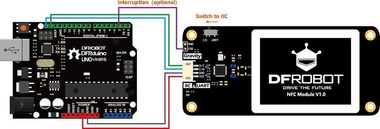 Gravity: UART & I2C NFC Module