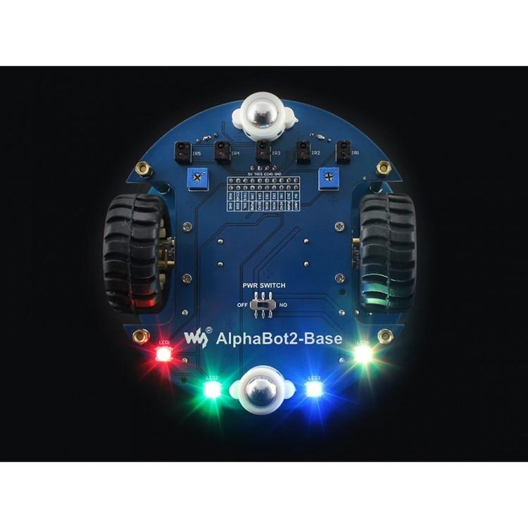 AlphaBot2 Video Smart Robot Powered By Raspberry Pi 4