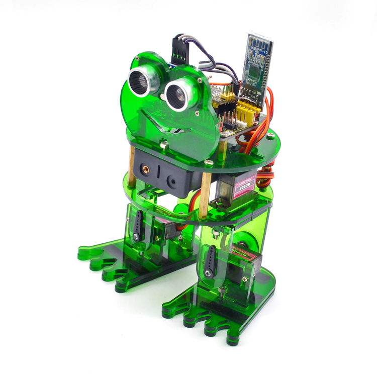 Keyestudio DIY 4-DOF Robot Kit Frog Robot compatible with Arduino Nano