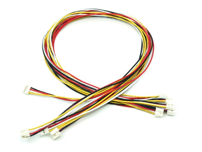 Grove - Universal 4 Pin Buckled 40cm Cable (5 PCs Pack)