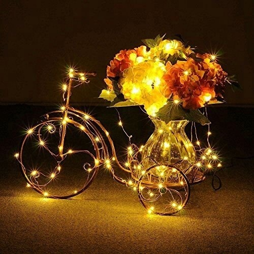 Xmas Decoration LED Copper String Light With USB Port