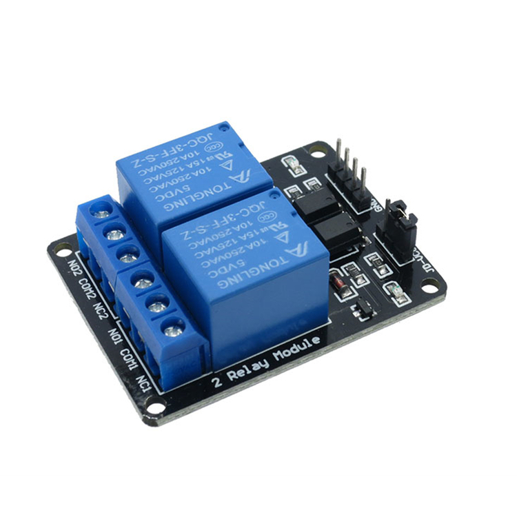 2 Channel Relay 5v with light coupling protection expansion board