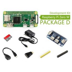 Raspberry Pi Zero W Package D, with USB HUB HAT