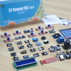 37pcs Sensor Starters Kit compatible with  Arduino
