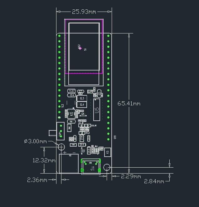 LILYGO® TTGO T-Koala ESP32 WiFi & Bluetooth Module 4MB Development Board Based ESP32-WROVER-B ESP32-WROOM-32