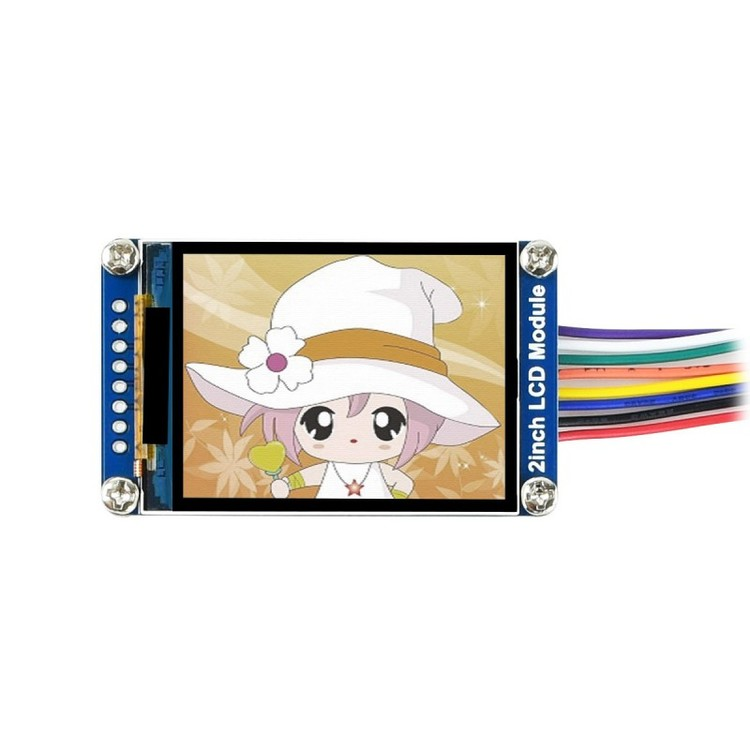 240×320, General 2inch IPS LCD Display Module