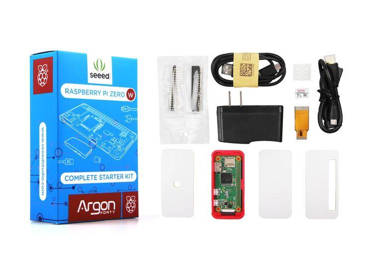Seeedstudio Raspberry Pi Zero W Complete Starter Kit