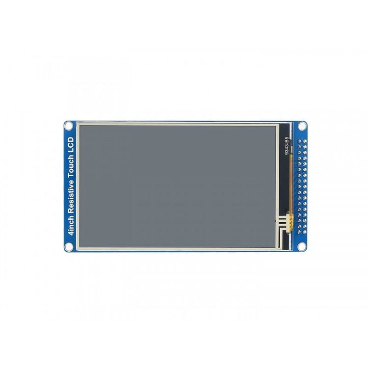 4inch Resistive Touch LCD with Parallel Interface