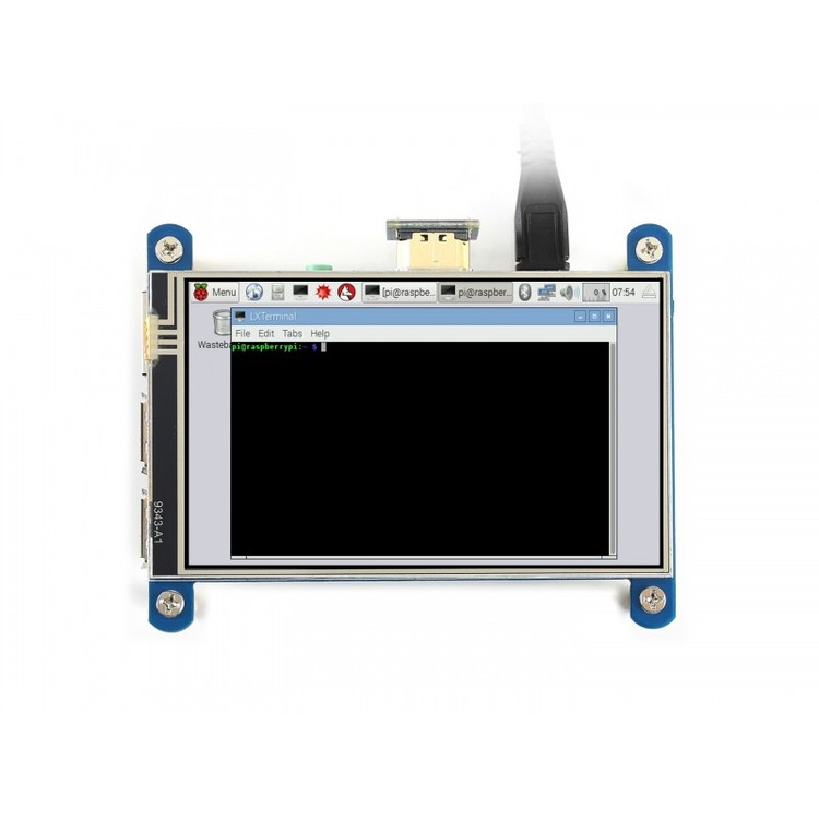 4inch HDMI LCD (H), 480x800, IPS, Designed for Raspberry Pi