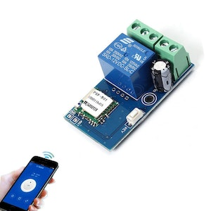 DC 12V Wireless Wifi Relay Switch Module for Android IOS Smart Home