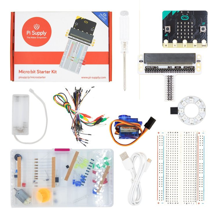 Pi Supply micro:bit Starter Kit