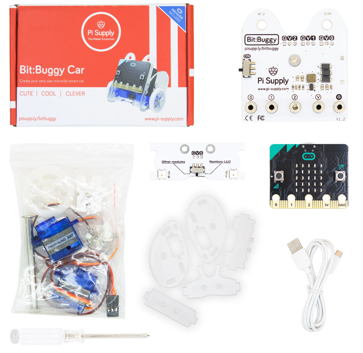 Pi Supply Bit:Buggy Car