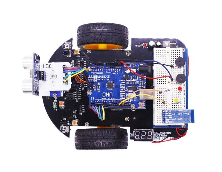 Yahboom Smartduino starter kit and smart robot 2in1 for Arduino Uno R3 compatible with Scratch3.0