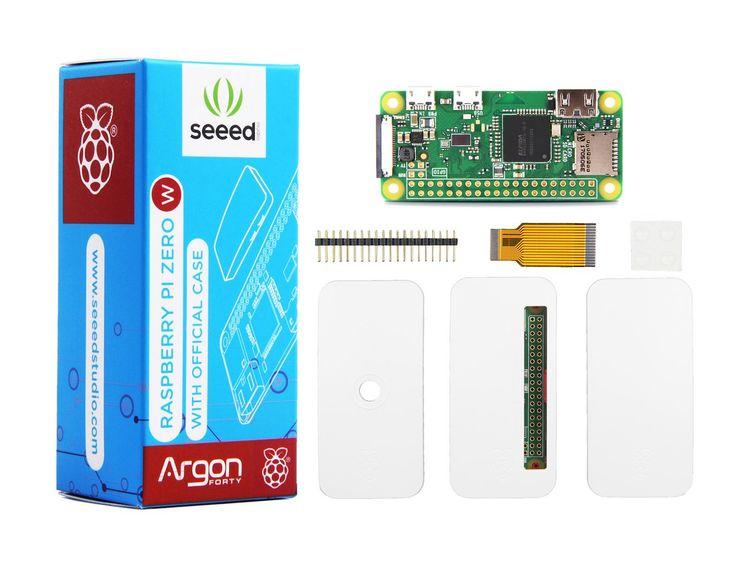 Seeedstudio Raspberry Pi Zero W with Official Case