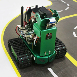 Yahboom Jetbot AI robot with HD Camera Coding with Python for Jetson Nano