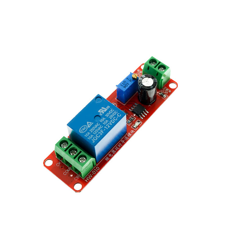 12V delay Relay Module Car start delay Adjustable NE555