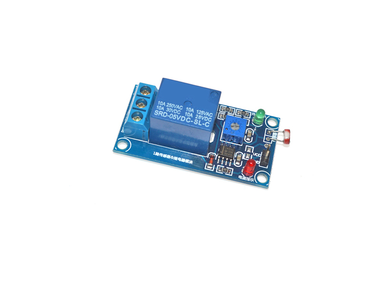 5V Photosensitive resistance sensor relay