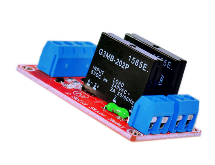 2 Channel Solid State Relay Module