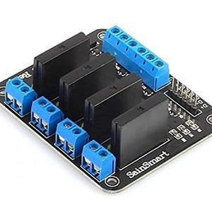 5V 4 Channel Solid State Relay High Low Level Trigger SSR Module Board