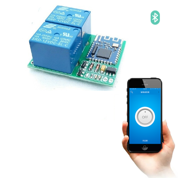 Bluetooth Relay Switch module for Mobile Phone APP