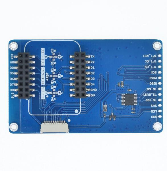 "TFT 2.4 Touch Shield V1.0.0 for LOLIN (WEMOS) D1 mini 2.4"""