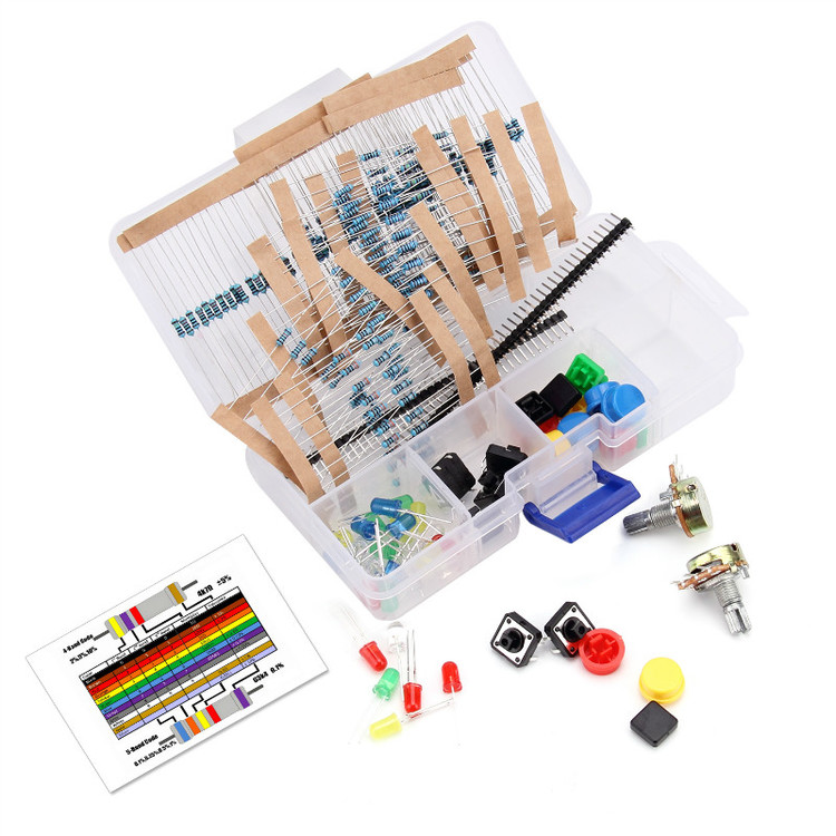 Electronics component pack compatible with Arduino Uno r3 Starter Kit