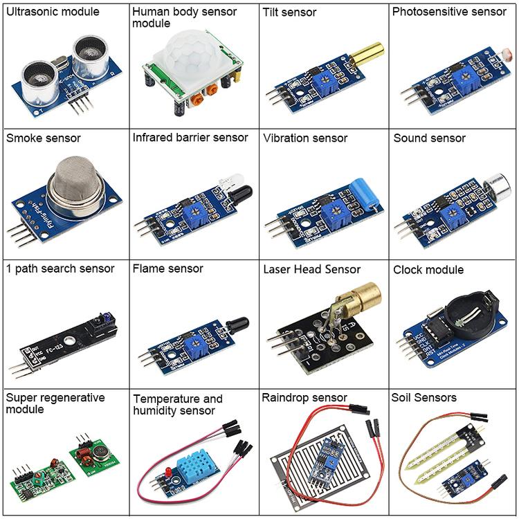 16 sensor kit