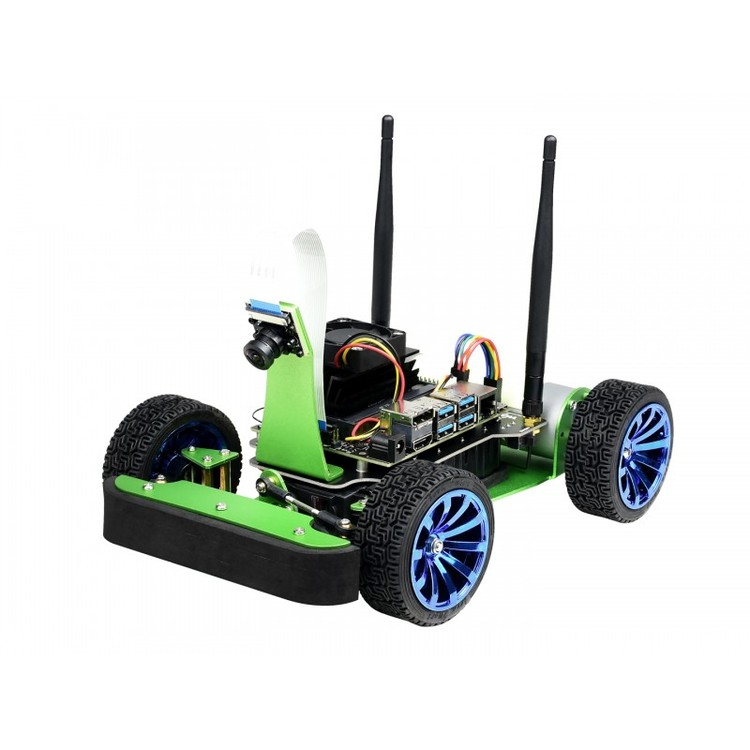 AI Racing Robot Powered by Jetson Nano
