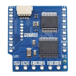 D1 mini I2C Dual Motor Driver Shield