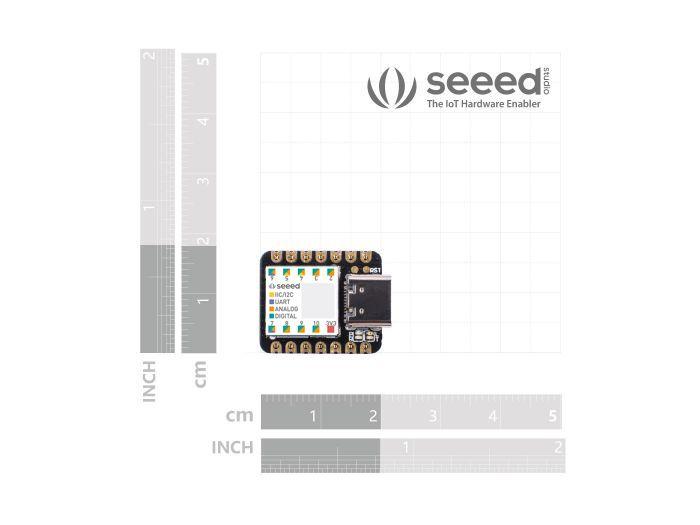 Seeeduino XIAO  SAMD21 Cortex M0+ smallest Arduino compatible