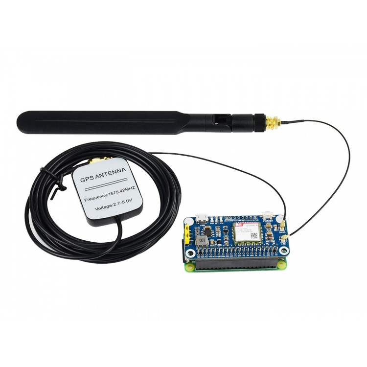 NB-IoT / Cat-M(eMTC) / GNSS HAT for Raspberry Pi, Globally Applicable