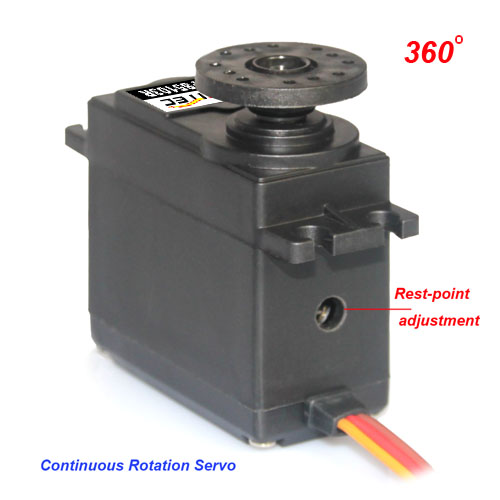 360 Degrees Continuous Rotation Servo