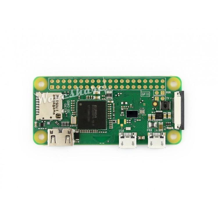 Raspberry Pi Zero W with Basic Components A